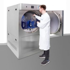 Autoclaves with round chamber