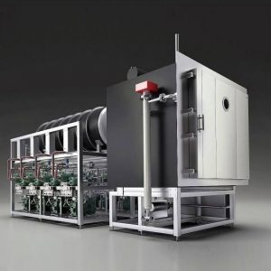 Freeze drying plants for production