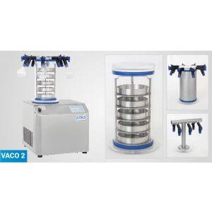 Laboratory freeze dryer VaCo 2