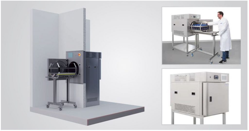 Laboratory and table-top autoclaves